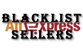 Ali Express Blacklist