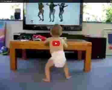 baby danst op beyonce