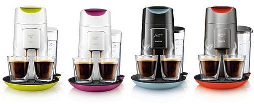 Senseo twist geeft halve kopjes koffie